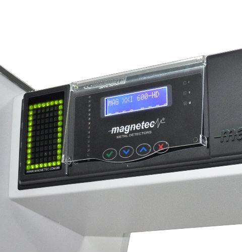 PORTAL DETECTOR DE METAIS - MAG 600 HD / FS MULTI ZONAS