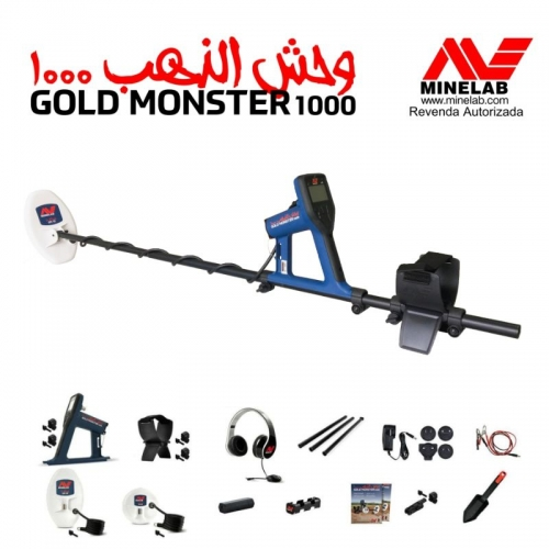 DETECTOR DE METAIS MINELAB GOLD MONSTER 1000 / DESCONTO A VISTA