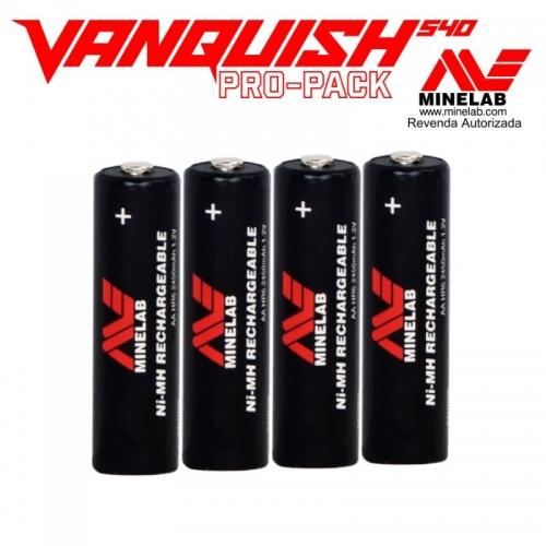 DETECTOR DE METAIS MINELAB VANQUISH 540 Pro Pack / A VISTA COM DESCONTO